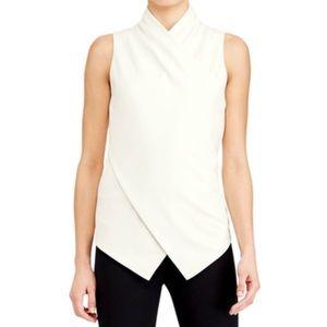Lauren Ralph Lauren Sleeveless Wrap Top - Size M
